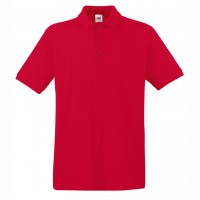 Риза поло пике, памучна, мъжка лукс