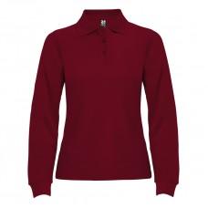 Риза поло пике, памучна, дамска лукс с дълъг ръкав
