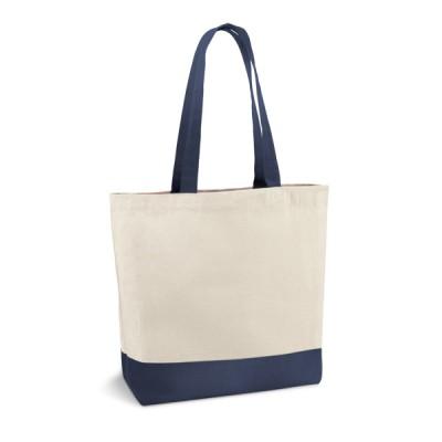 Чанта за пазаруване, памук, двутонова