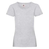 Дамска тениска, сив меланж, памук