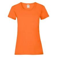 Дамска тениска, портокал, памук