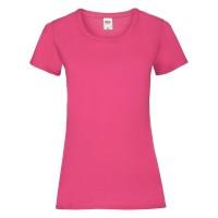 Дамска тениска, пурпурна, памук