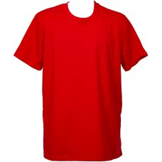 Класическа тениска, червена