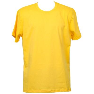 Класическа тениска, жълта