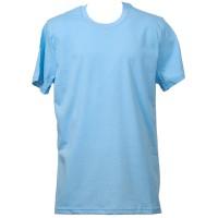 Класическа тениска, светлосиня