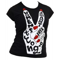 """Тениска с индивидуален дизайн """"Говорещия маникюр"""""""