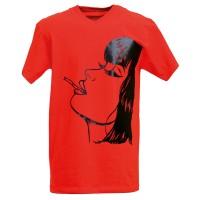 """Тениска с индивидуален дизайн """"Горещо момиче"""""""