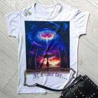 """Тениска със снимка или с индивидуален дизайн """"Събуждане"""""""