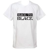 """Тениска с индивидуален дизайн """"Back to Black"""""""
