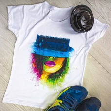 """Тениска със снимка или с индивидуален дизайн """"Blue Mind"""""""