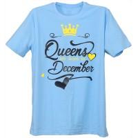 """Тениска с индивидуален дизайн """"Кралица на месеца"""""""