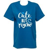 """Тениска с индивидуален дизайн """"Психо"""""""