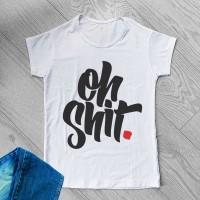 """Тениска със снимка или с индивидуален дизайн """"По дяволите"""""""