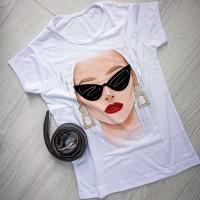 """Тениска със снимка или с индивидуален дизайн """"Влюбена"""""""