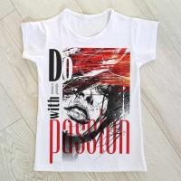 """Тениска със снимка или с индивидуален дизайн """"Страсти"""""""