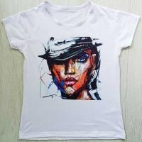 """Тениска със снимка или с индивидуален дизайн """"Когато очите говорят"""""""
