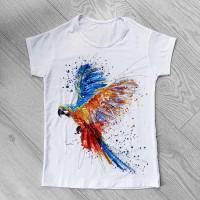 """Тениска със снимка или с индивидуален дизайн """"Цветовете на живота"""""""