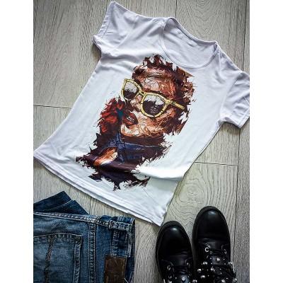 """Тениска със снимка или с индивидуален дизайн """"Обсебен от изкуството"""""""