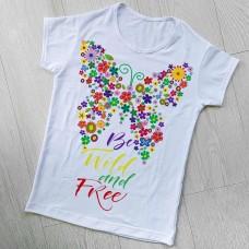 """Тениска със снимка или с индивидуален дизайн """"Свободен"""""""