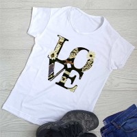 """Тениска със снимка или с индивидуален дизайн """"Любов"""""""