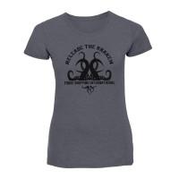 """Тениска с печат или щампа дизайн """"Освободи октопода"""""""