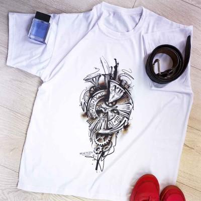 """Тениска със снимка или с индивидуален дизайн """"Time Stop"""""""